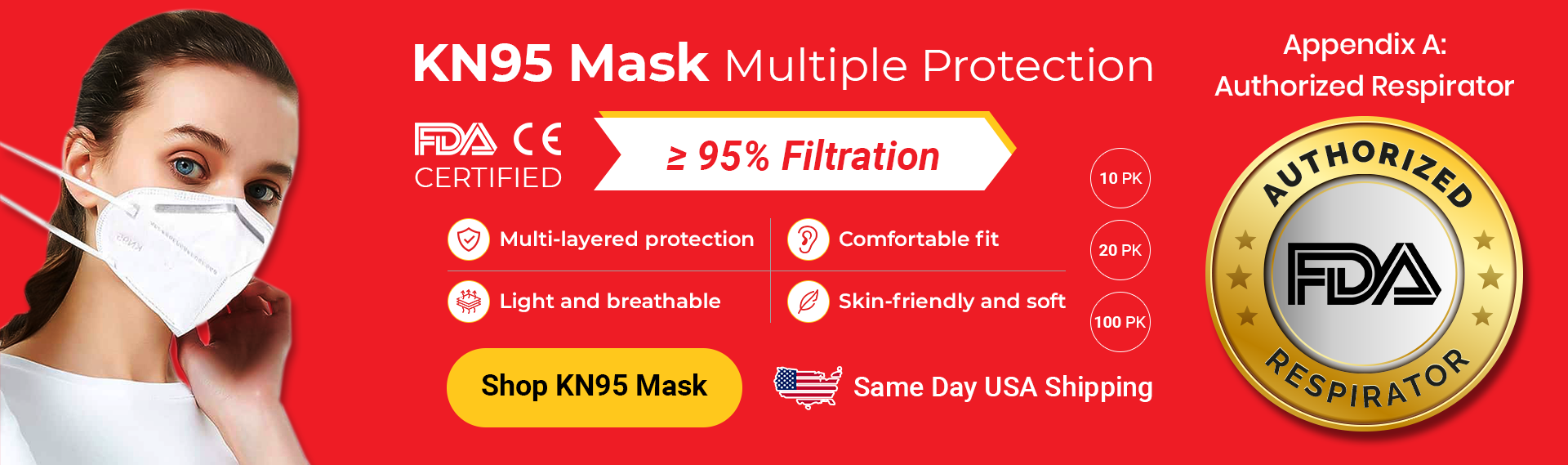 CDC Approved KN95 Masks for Sale at Databazaar.com