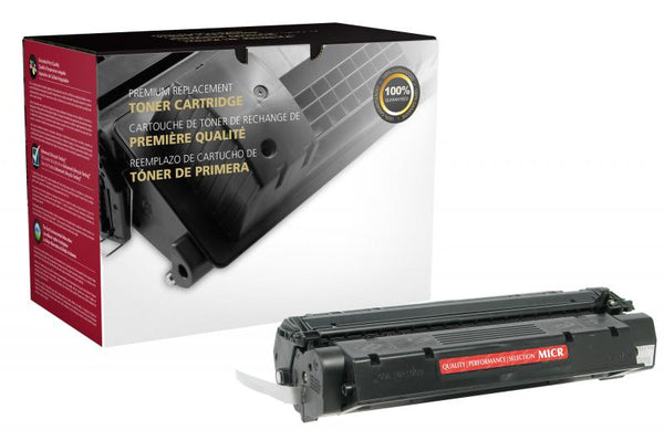 CIG Remanufactured High Yield MICR Toner Cartridge for HP C7115X (HP 15X), TROY 02-81080-001