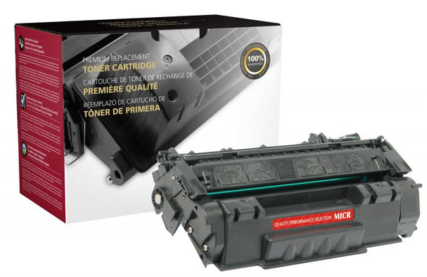 CIG Remanufactured MICR Toner Cartridge for HP Q5949A (HP 49A), TROY 02-81036-001