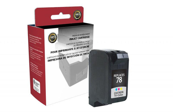 CIG Remanufactured Tri-Color Ink Cartridge for HP C6578DN (HP 78)