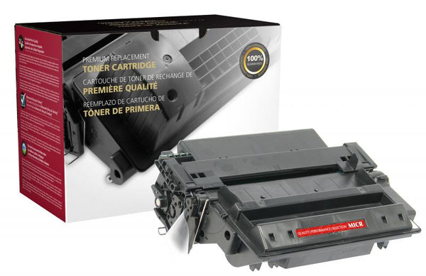 CIG Remanufactured High Yield MICR Toner Cartridge for HP Q7551X (HP 51X), TROY 02-81200-001
