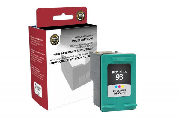 CIG Remanufactured Tri-Color Ink Cartridge for HP C9361WN (HP 93)