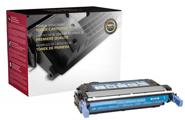 CIG Remanufactured Cyan Toner Cartridge for HP CB401A (HP 642A)