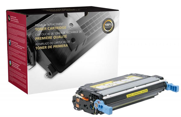 CIG Remanufactured Yellow Toner Cartridge for HP CP4005 (HP 642A)