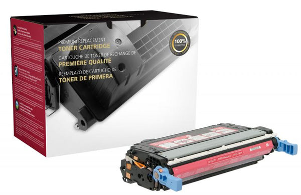 CIG Remanufactured Magenta Toner Cartridge for HP CB403A (HP 642A)