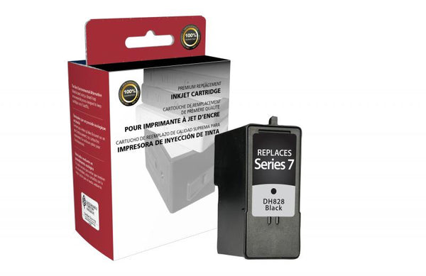 CIG Remanufactured High Yield Black Ink Cartridge for Dell Series 7