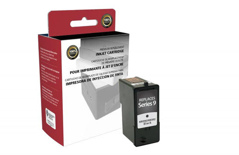 CIG Remanufactured High Yield Black Ink Cartridge for Dell Series 9