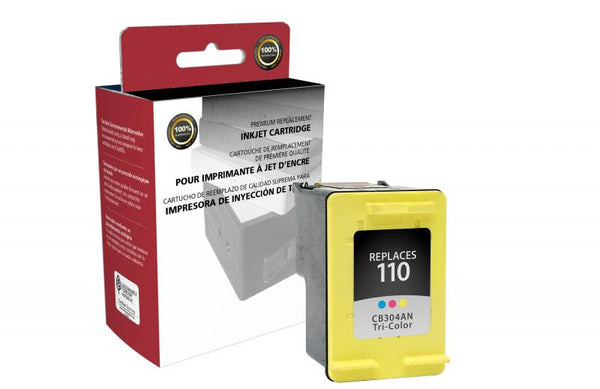 CIG Remanufactured Tri-Color Ink Cartridge for HP CB304AN (HP 110)