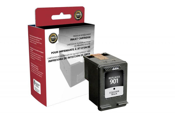 CIG Remanufactured Black Ink Cartridge for HP CC653AN (HP 901)