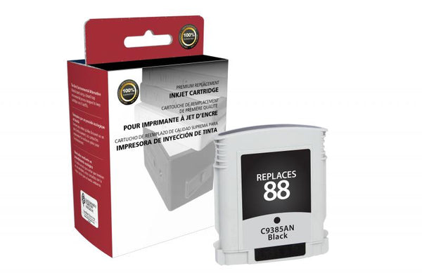CIG Remanufactured Black Ink Cartridge for HP C9385AN (HP 88)