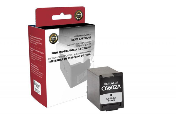 CIG Remanufactured Black Ink Cartridge for HP C6602A