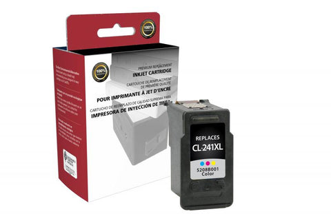 CIG Remanufactured High Yield Color Ink Cartridge for Canon CL-241XL