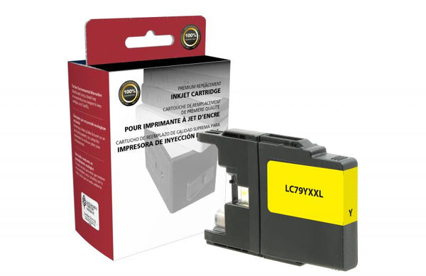 CIG Non-OEM New Extra High Yield Yellow Ink Cartridge for Brother LC79XXL