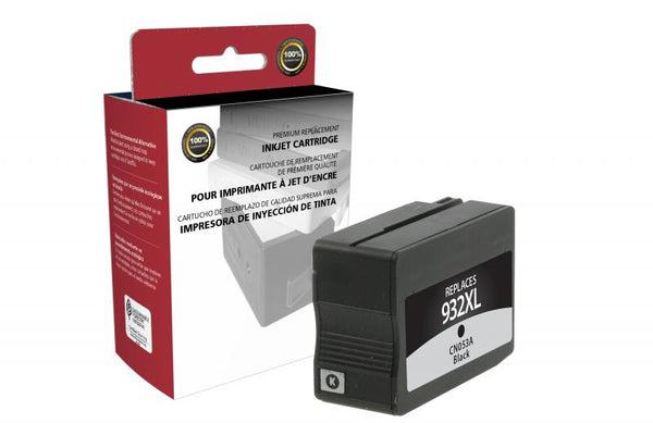 Remanufactured HP CN053AN (HP 932XL) Ink Cartridge - High Yield Black
