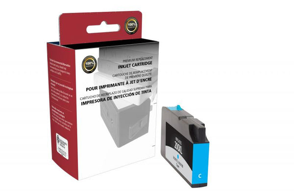CIG Remanufactured High Yield Cyan Ink Cartridge for Lexmark #200XL