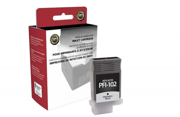 CIG Remanufactured Black Ink Cartridge for Canon PFI-102