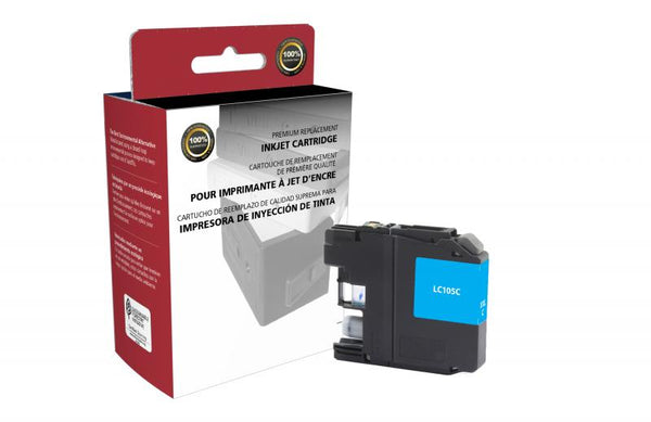 CIG Non-OEM New Super High Yield Cyan Ink Cartridge for Brother LC105XXL