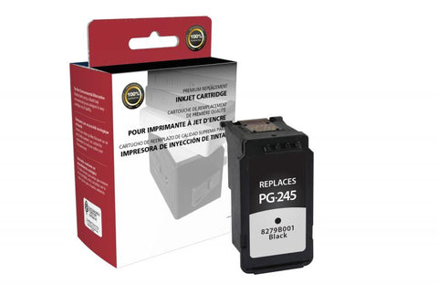 Canon PG-245 Ink Cartridge - Remanufactured Black