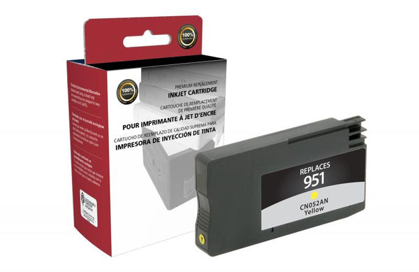 CIG Remanufactured Yellow Ink Cartridge for HP CN052AN (HP 951)