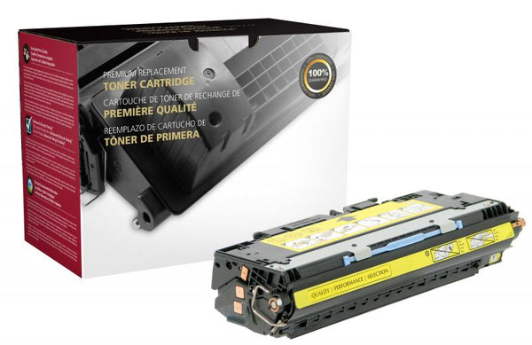 CIG Remanufactured Yellow Toner Cartridge for HP Q2672A (HP 309A)
