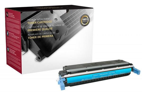 CIG Remanufactured Cyan Toner Cartridge for HP C9731A (HP 645A)