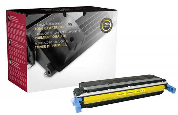CIG Remanufactured Yellow Toner Cartridge for HP C9732A (HP 645A)