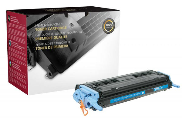CIG Remanufactured Cyan Toner Cartridge for HP Q6001A (HP 124A)
