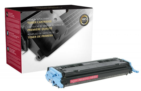 CIG Remanufactured Magenta Toner Cartridge for HP Q6003A (HP 124A)