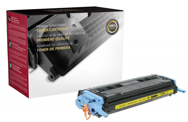 CIG Remanufactured Yellow Toner Cartridge for HP Q6002A (HP 124A)