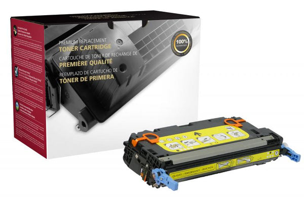 CIG Remanufactured Yellow Toner Cartridge for HP Q6472A (HP 502A)