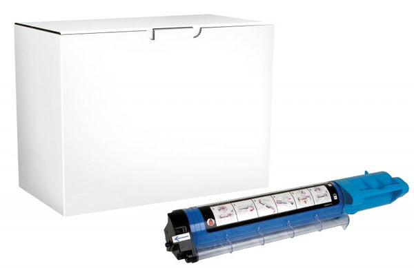 CIG Non-OEM New High Yield Cyan Toner Cartridge for Dell 3000/3100