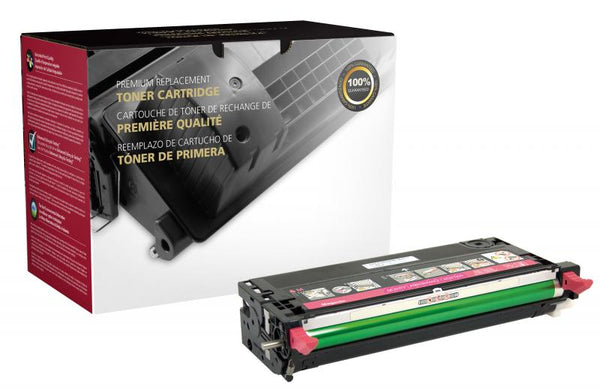 CIG Remanufactured High Yield Magenta Toner Cartridge for Dell 3110/3115
