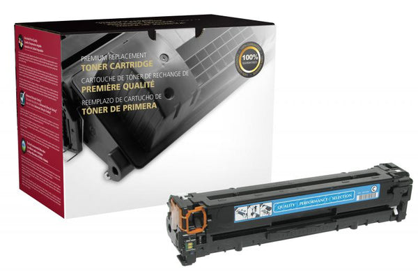 CIG Remanufactured Cyan Toner Cartridge for HP CB541A (HP 125A)