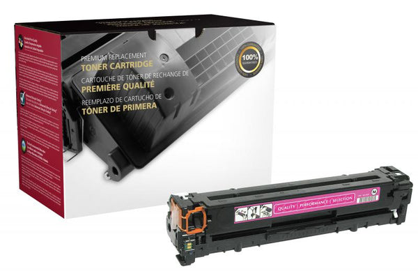 CIG Remanufactured Magenta Toner Cartridge for HP CB543A (HP 125A)
