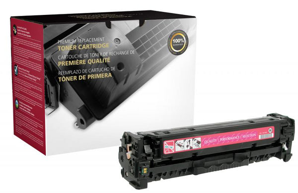CIG Remanufactured Magenta Toner Cartridge for HP CC533A (HP 304A)