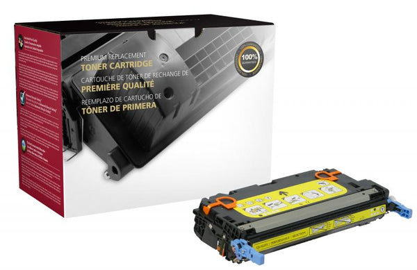 CIG Remanufactured Yellow Toner Cartridge for HP Q7582A (HP 503A)