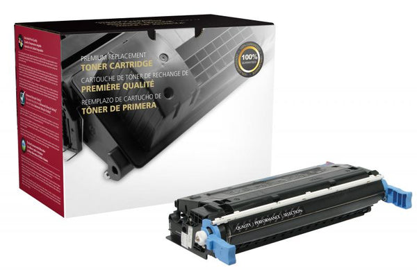 CIG Remanufactured Black Toner Cartridge for HP C9720A (HP 641A)