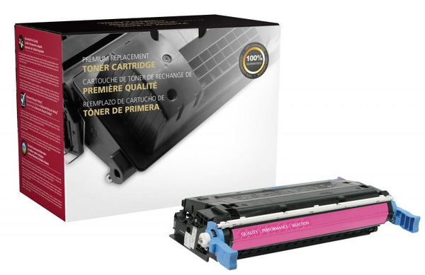 CIG Remanufactured Magenta Toner Cartridge for HP C9723A (HP 641A)