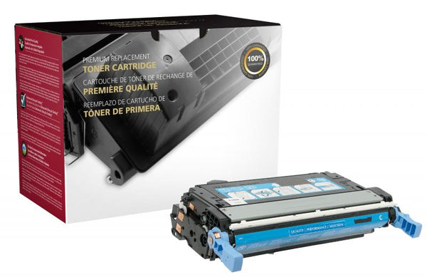 CIG Remanufactured Cyan Toner Cartridge for HP Q5951A (HP 643A)