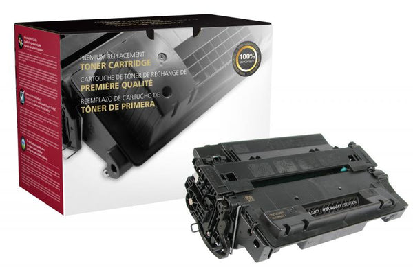 CIG Remanufactured High Yield Toner Cartridge for HP CE255X (HP 55X)
