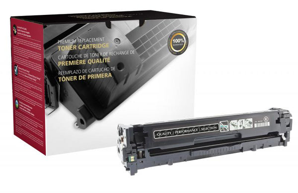 CIG Remanufactured Black Toner Cartridge for HP CE320A (HP 128A)