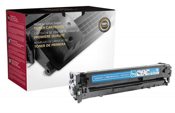 CIG Remanufactured Cyan Toner Cartridge for HP CE321A (HP 128A)