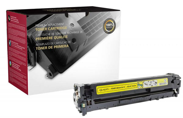 CIG Remanufactured Yellow Toner Cartridge for HP CE322A (HP 128A)