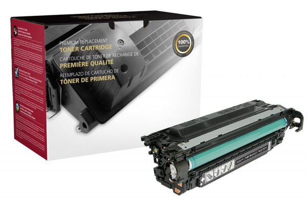 CIG Remanufactured High Yield Black Toner Cartridge for HP CE250X (HP 504X)