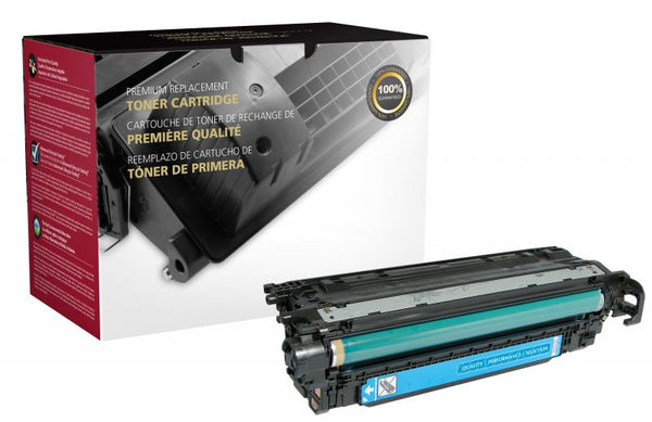 CIG Remanufactured Cyan Toner Cartridge for HP CE251A (HP 504A)