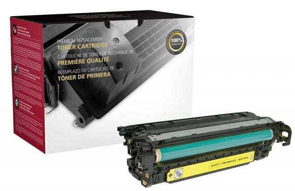 CIG Remanufactured Yellow Toner Cartridge for HP CE252A (HP 504A)