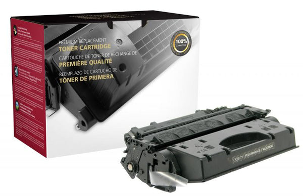 CIG Remanufactured Extended Yield Toner Cartridge for HP CE505X (HP 05X)