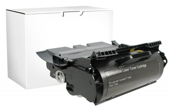 CIG Remanufactured High Yield Toner Cartridge for Lexmark Compliant T640/T642/T644/X642/X644/X646