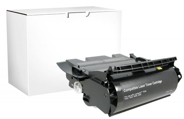 CIG Remanufactured High Yield Toner Cartridge for Lexmark Compliant T630/T632/T634/X632/X634