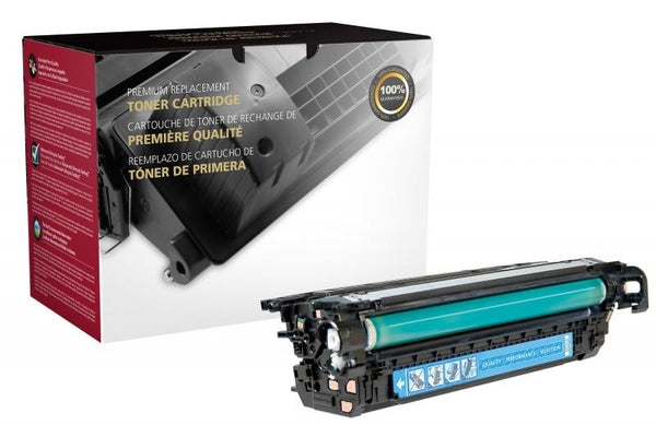 CIG Remanufactured Cyan Toner Cartridge for HP CE261A (HP 648A)
